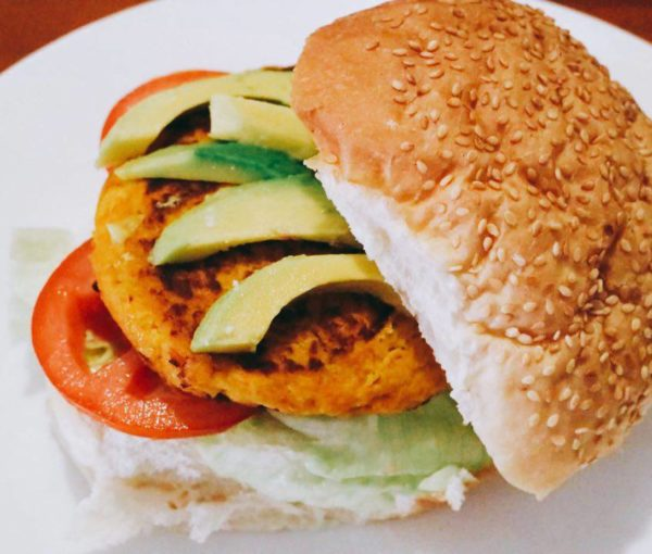 Chickpea and Pumpkin Patty