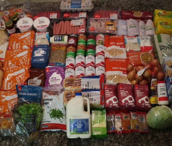 Month 1 Meal Plan Shopping List