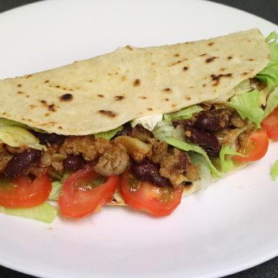 Chilli Con Carne Tortillas