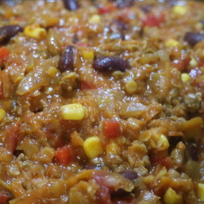 Mexican Mince for Tacos, Tortilla Stacks and Nachos