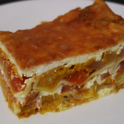 Roast Pumpkin and Ricotta Lasagne
