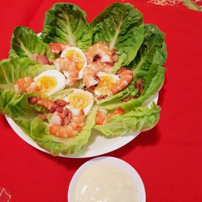 Prawn Caesar-Like Salad