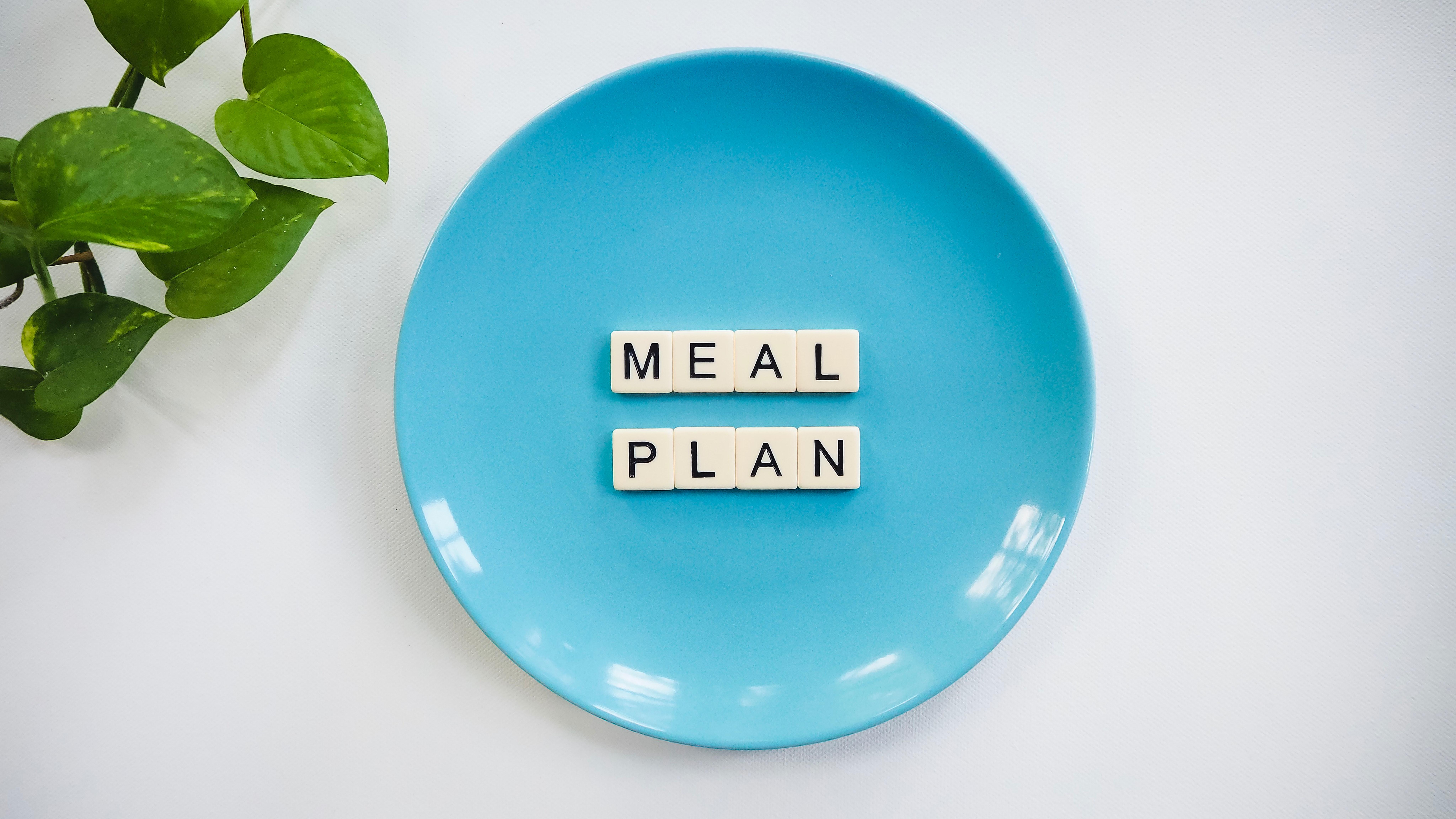 Meal Plan 9/12/20 - 22/12/20